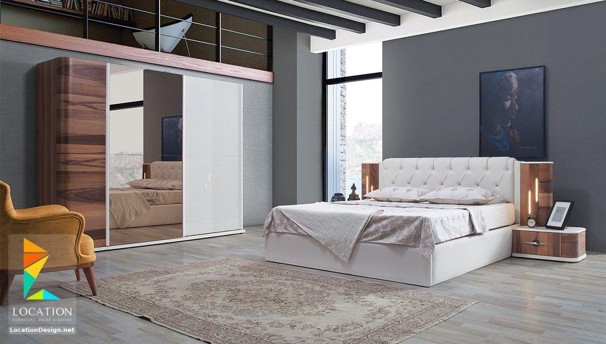 كتالوج غرف نوم مودرن كاملة 2019 2020 Modern Bed Bedroom Bed Design Bedroom Closet Design