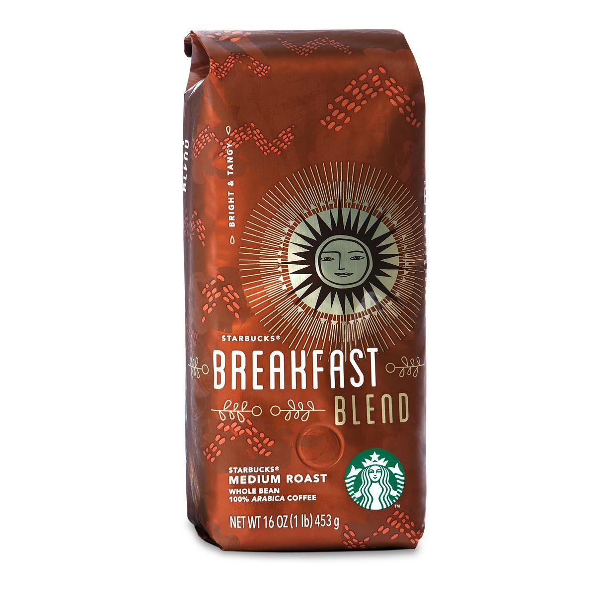 Starbucks Breakfast Blend Ground Starbucks Breakfast Breakfast Blend Coffee Beans