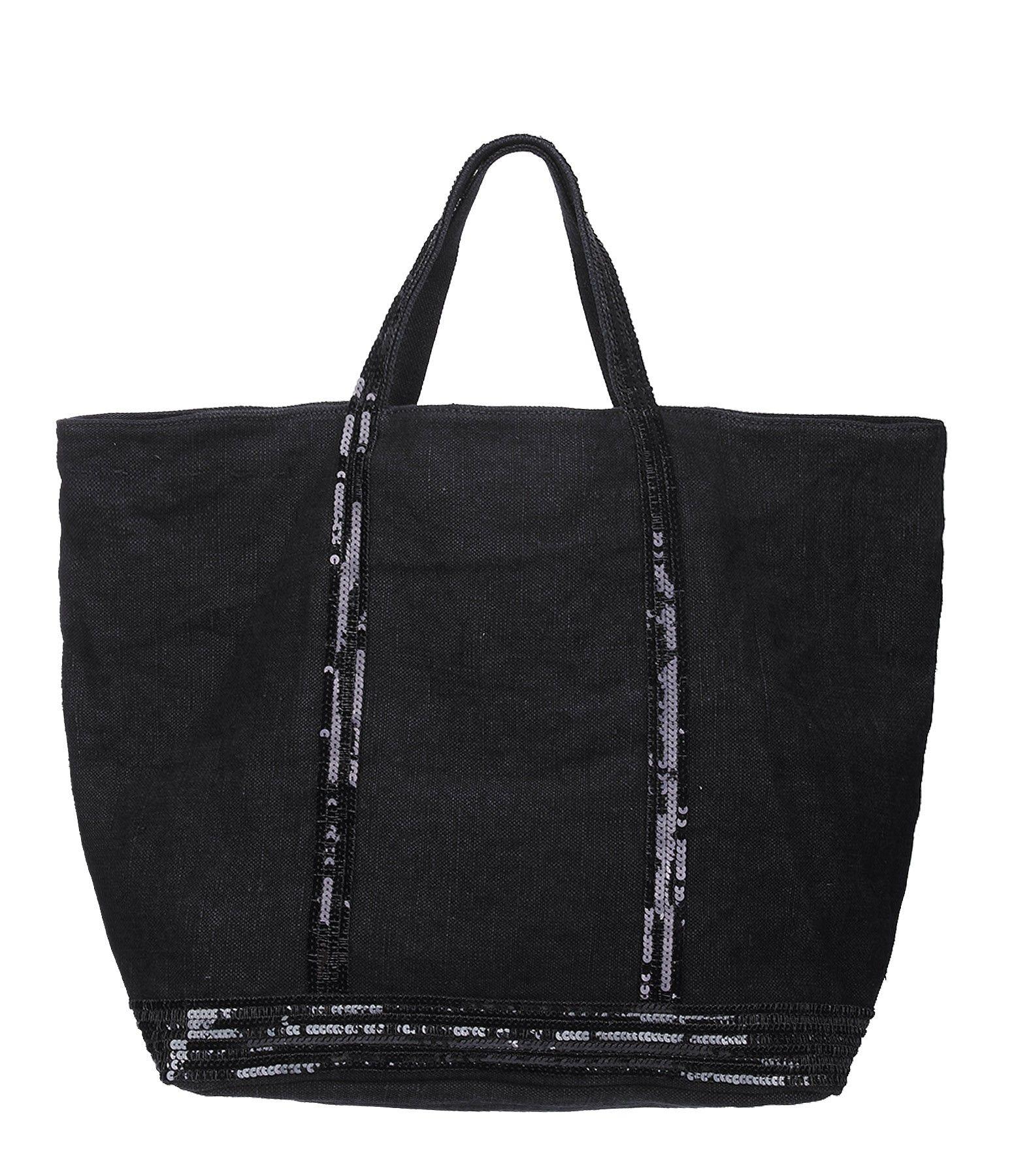 cabas grand lin noir vanessa bruno wanted pinterest lin noir toiles et nouvelle collection. Black Bedroom Furniture Sets. Home Design Ideas