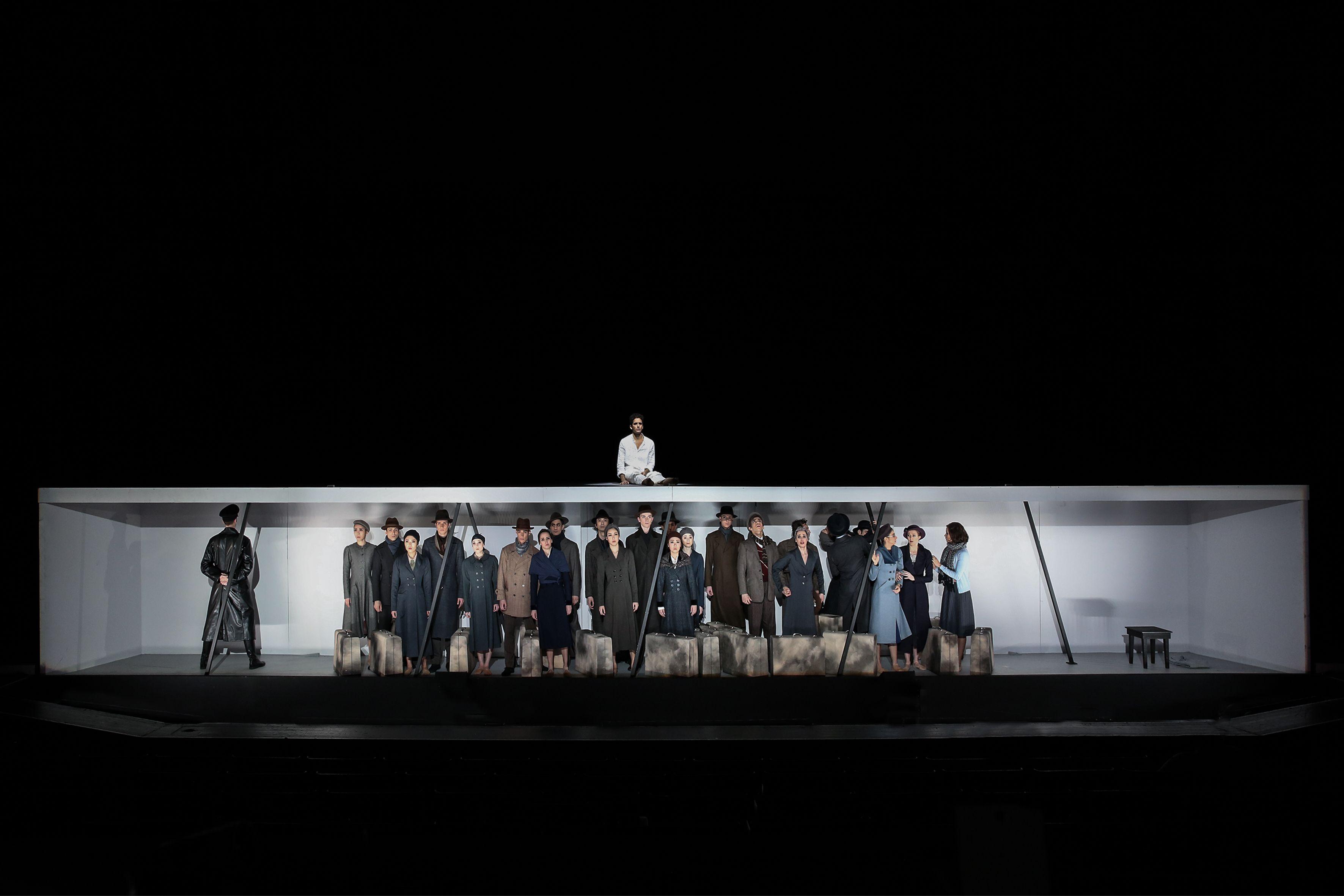 Stagedesign for ANNE FRANK/ a ballet for Staatsballett Karlsruhe, Germany Sebastian Hannak