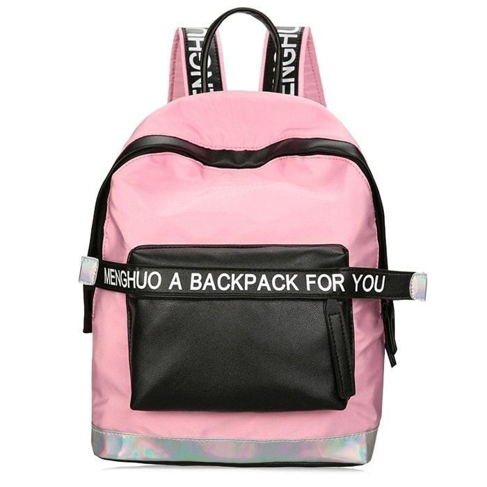 a6d24c081f RoseGal -  Rosewholesale Color Block Backpack - AdoreWe.com