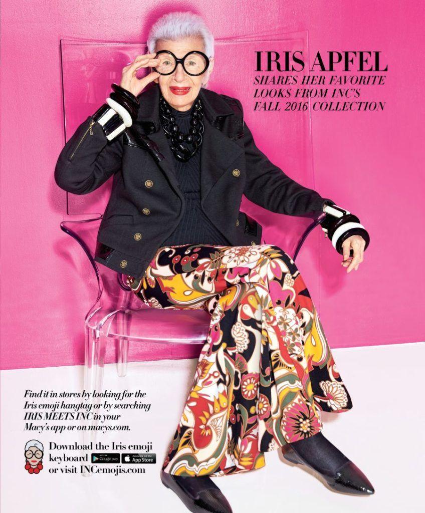Iris Apfel Emoji's | The English Room