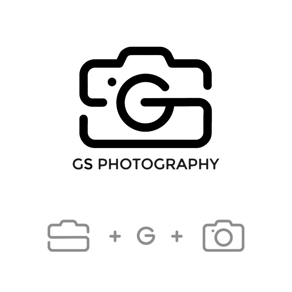 Gs Photography Logo Priyanka Kadoo On Artstation At Https Www Artstation Com Artwork 4bewk2 Photography Logos Photo Logo Design Photography Logo Design