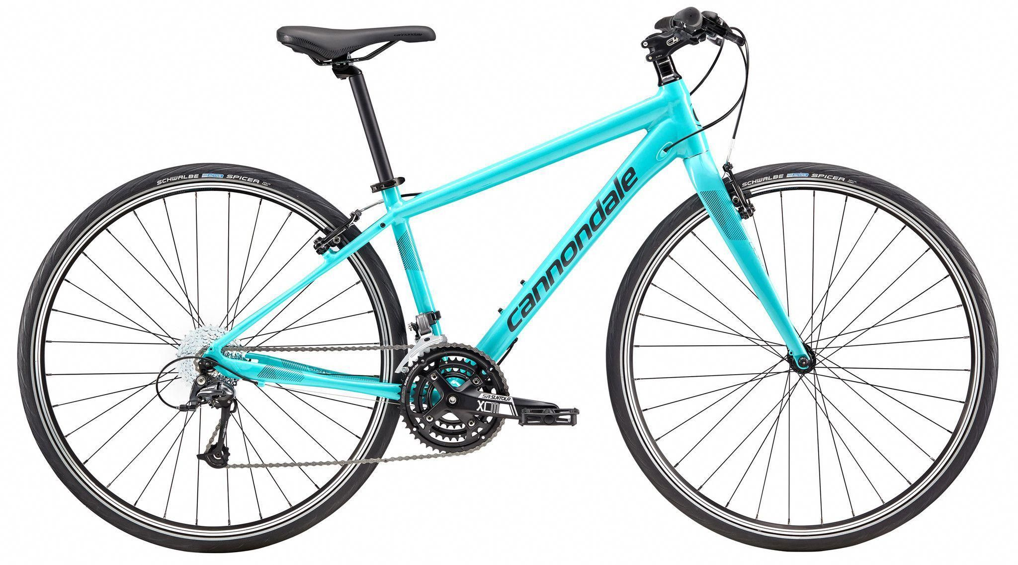 Types Of Bikes Hybrid Bike Cannondale Womens Bike