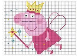 Image result for peppa pig knitting pattern free download | Cross stitch fairy, Disney cross ...