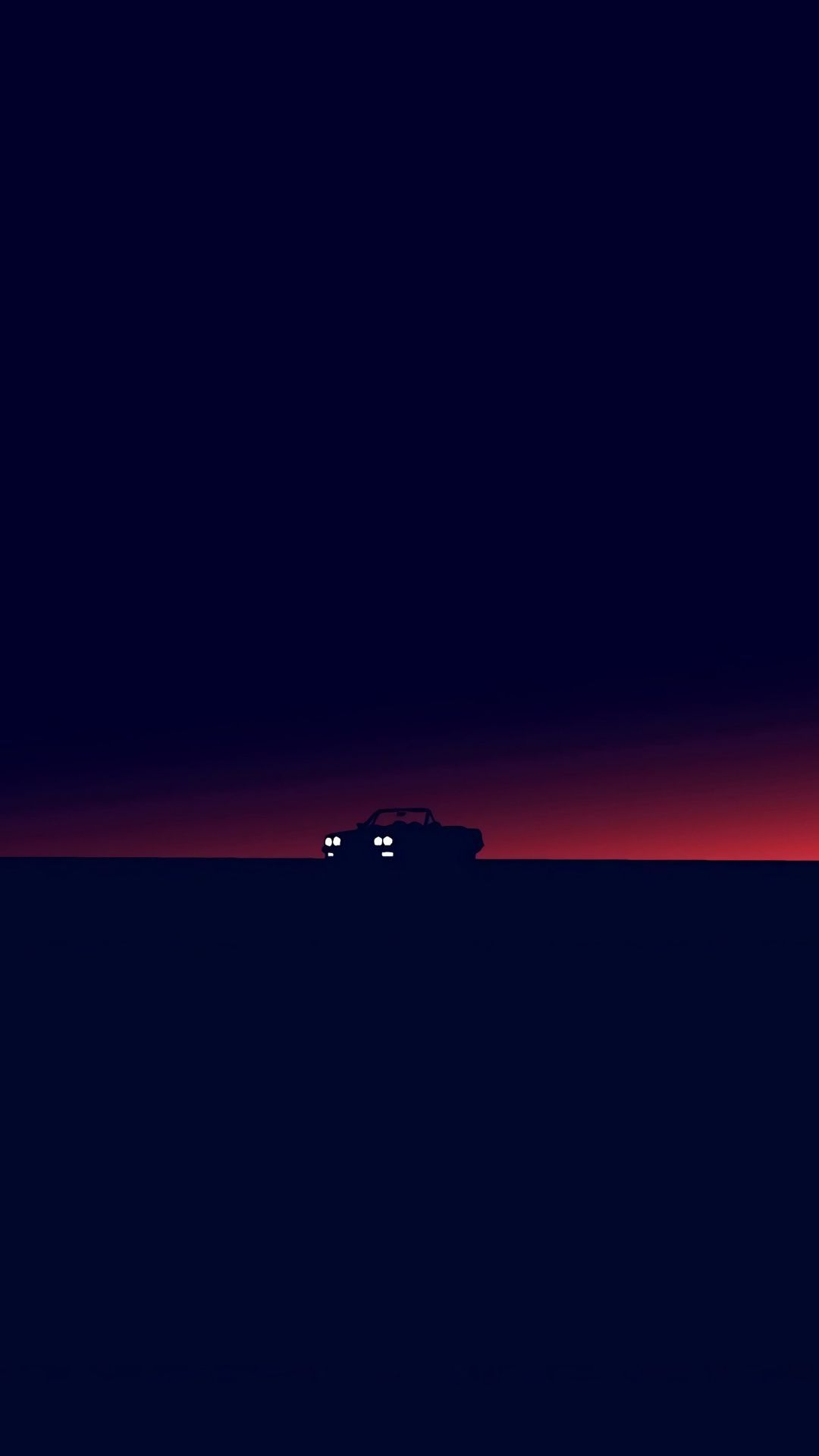 Car Silhouette Dark Twilight Minimal 1080x19 Wallpaper 壁紙の背景 ロック画面用 壁紙 携帯電話の壁紙 機能 壁紙 クールな壁紙 壁紙 Minimalist Wallpaper Minimal Wallpaper Dark Wallpaper