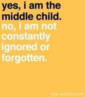 August 12th is National Middle Child Day ! I'm a middle kid :) #middlechildhumor... #middlechildhumor