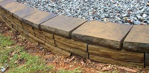 What are stackable retaining wall blocks?