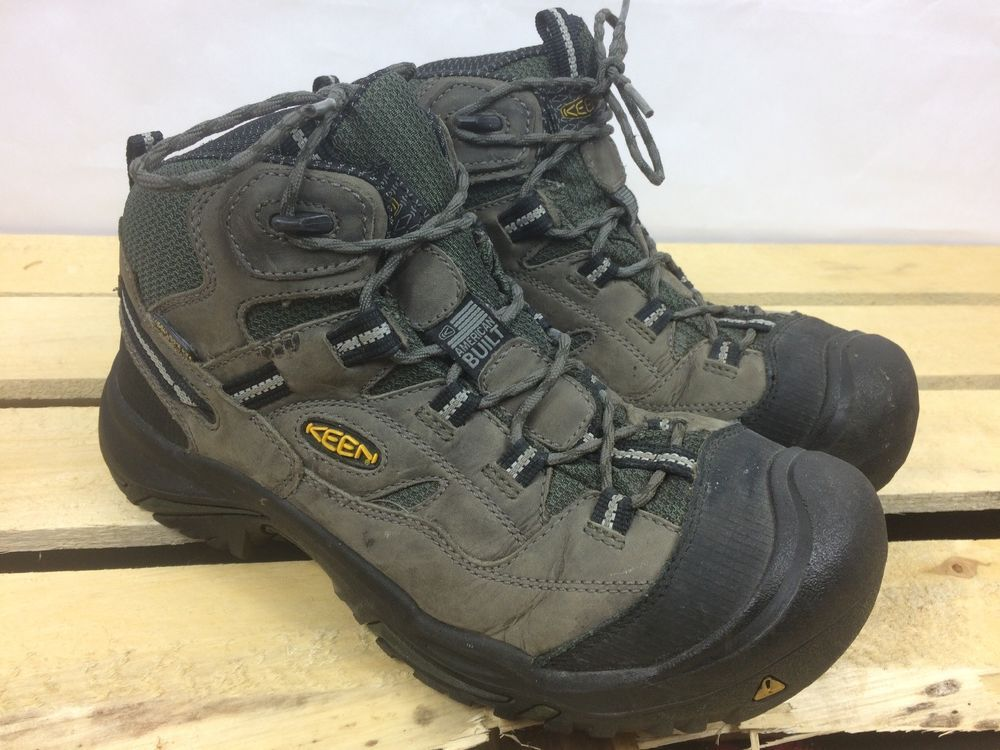 4e49fc55a55 Keen Mens Size 9.5 Safety Steel Toe Work Boots ASTM F2413-11 #KEEN ...