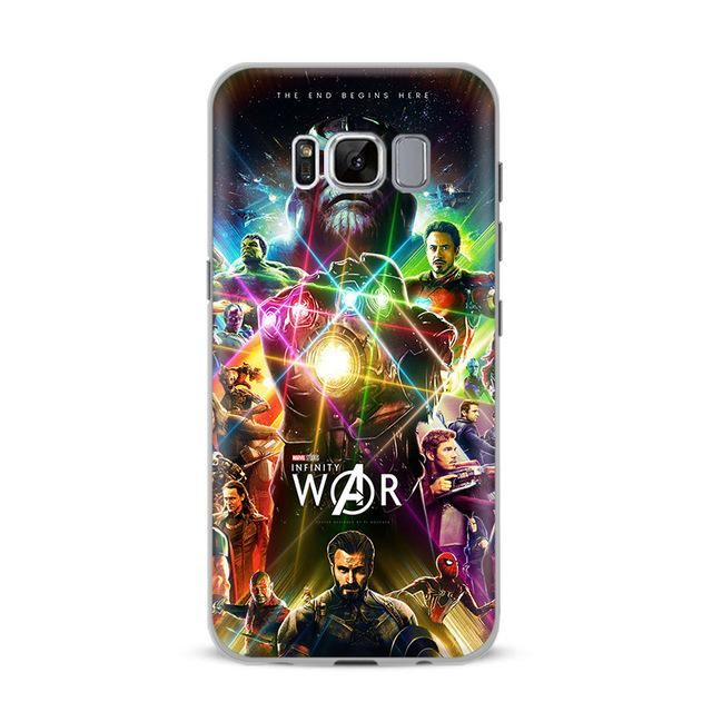 reputable site bfe71 1fc9f Avengers Infinity War Phone Cover For Samsung in 2019 | Computer ...