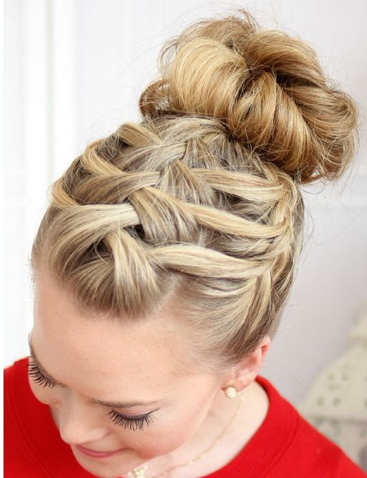 Beautiful Triple French Braided Updo Hairstyles 2015 Hair Styles I