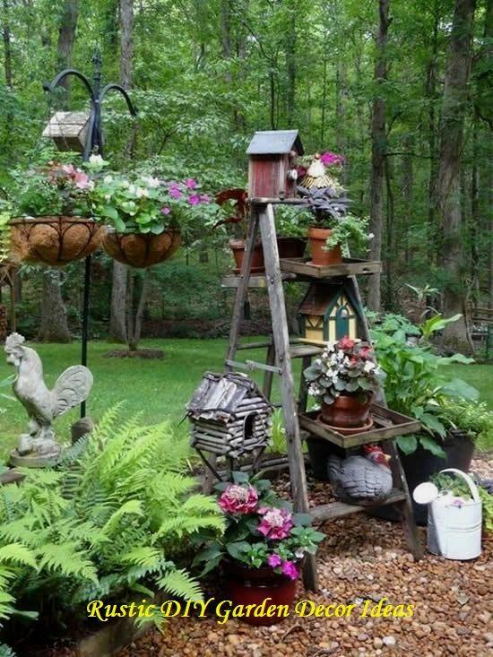 Photo of 16 fai-da-te da giardino creativi e rustici