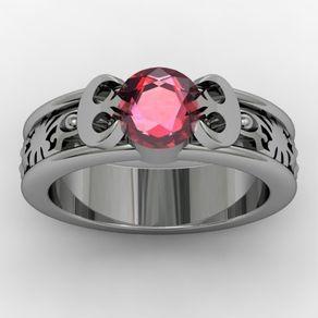 Princess Leia Star Wars Inspired/ Rebel Alliance Engagement Wedding Ring by Jasmeen Kaur