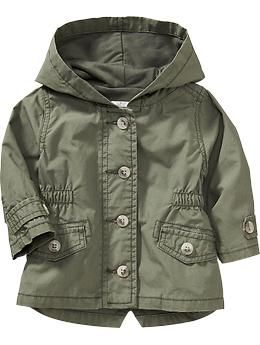 e1bcbf3f0 Hooded Utility Jacket for Baby