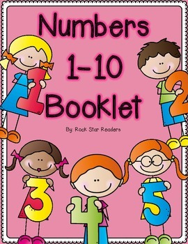 Numbers 1 10 Booklet With Images Number Poems Number Fun Numbers 1 10