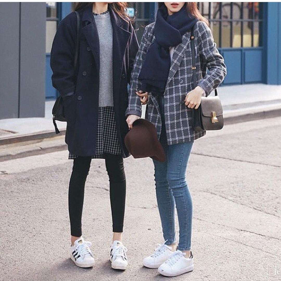 "Korean Fashion on Instagram: ""♡ { #winter #trend #hairstyles"