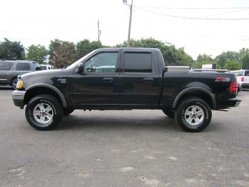 2002 ford f150 xlt 4dr supercrew 4wd styleside short. Black Bedroom Furniture Sets. Home Design Ideas