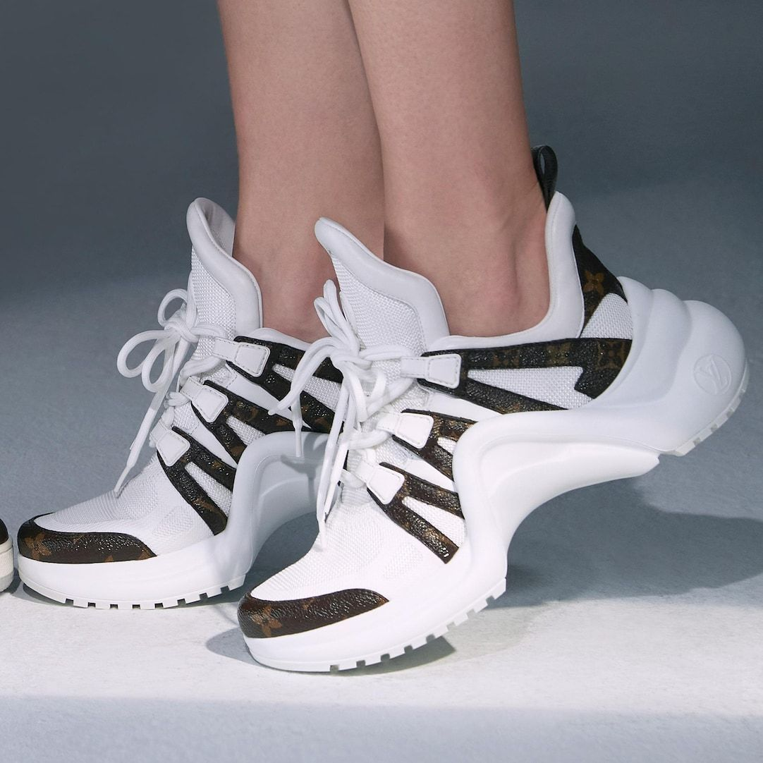 LV Archlight Sneaker in White - Shoes 1A43KV | LOUIS VUITTON ® | louis vuitton archlight sneakers white