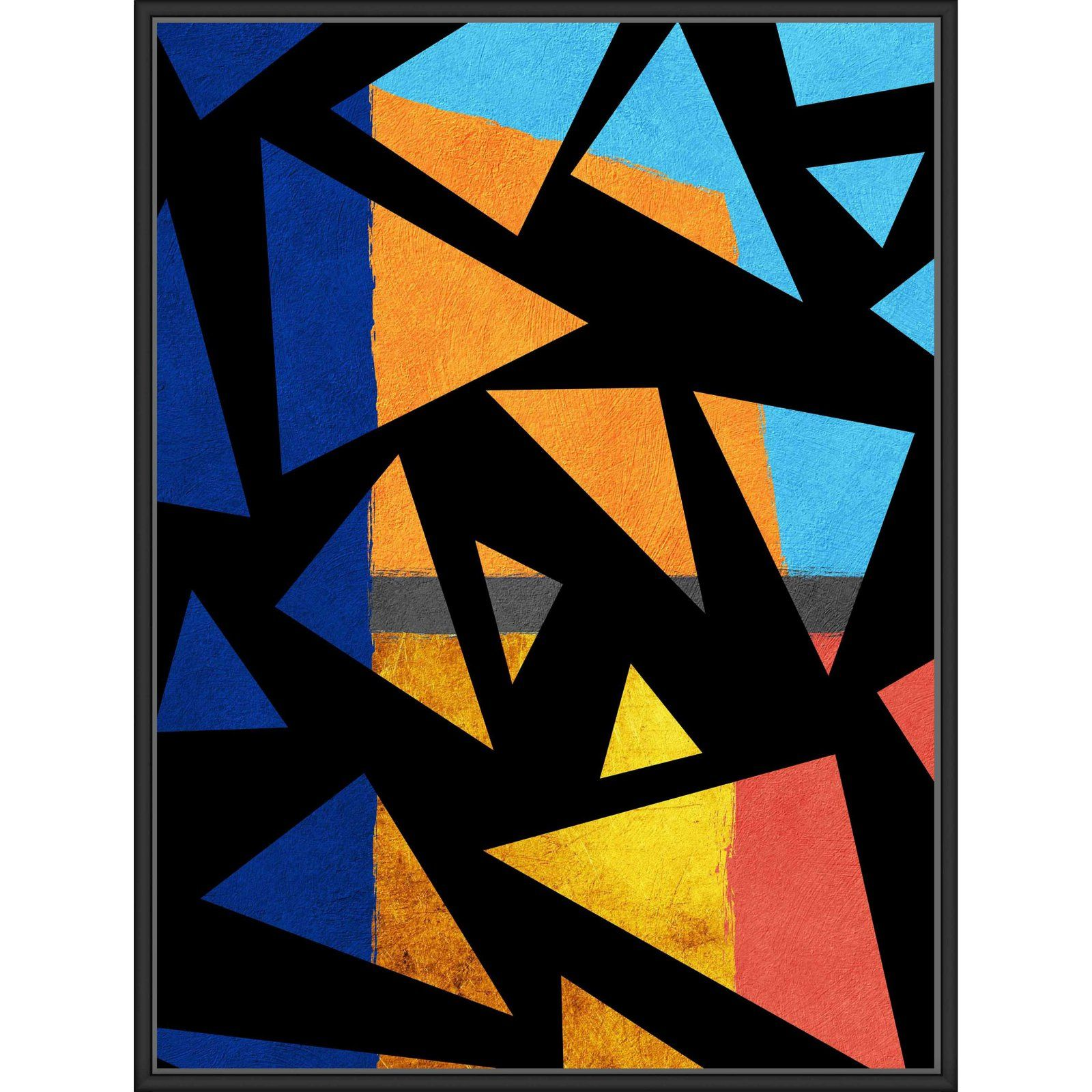 Ptm Images Shaterd Geometry Wall Art Art Graphic Art Print Art Prints