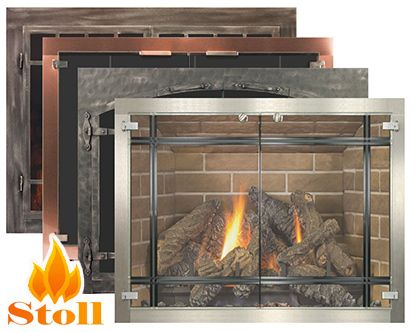 Fireplace Doors In 2019 Gas Fireplaces Pinterest Fireplace