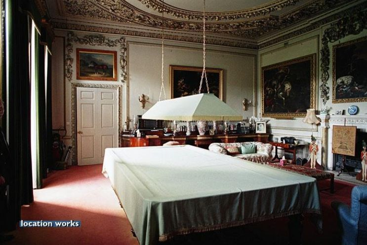 Secondary Billiards Room?. Burghley House