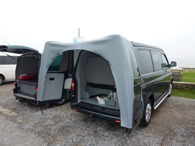 Rear Canopy/Awnining Over Barn Doors - Page 4 - VW T4 ...