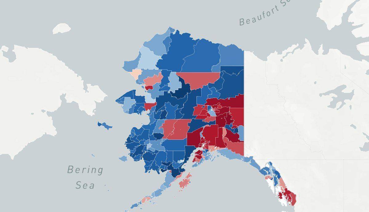 Interactive Map Of Alaska.View Unofficial Precinct By Precinct Results In This Interactive Map