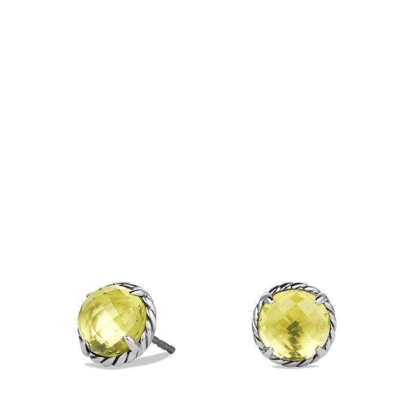 Chatelaine Earrings With Lemon Citrine 395 Earrings