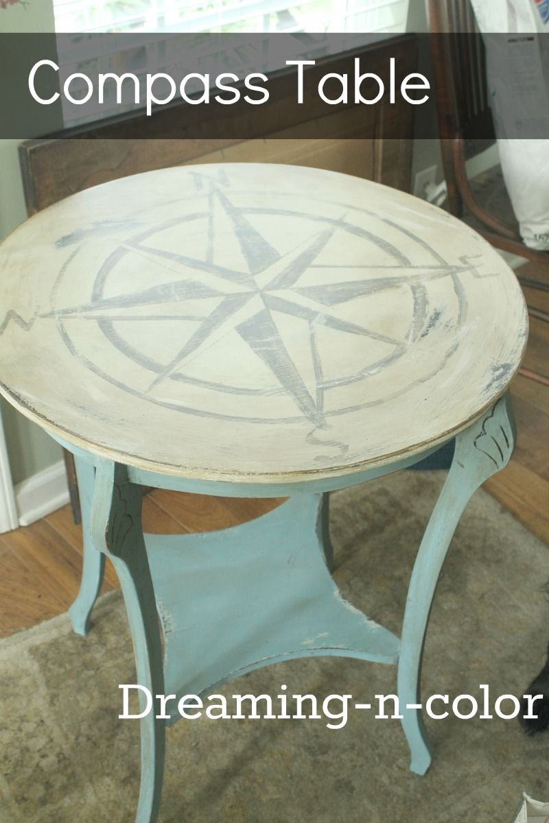 Dreamingincolor Compass Table #triplepfeature Home