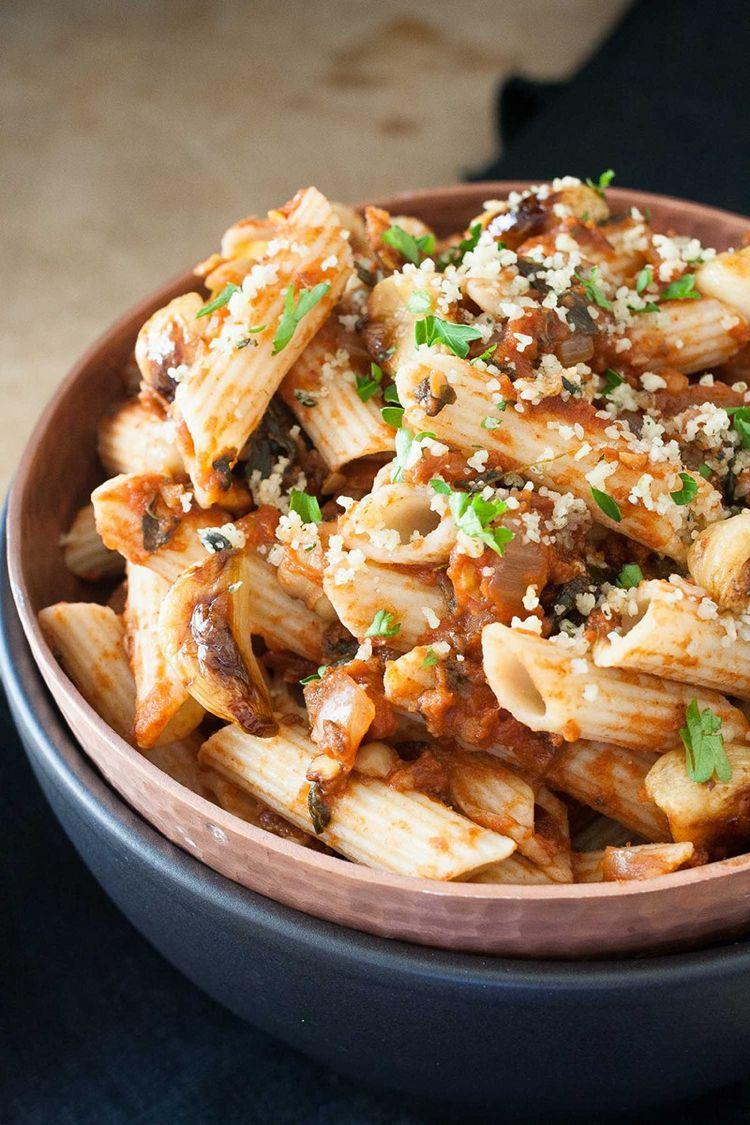 Vegane Gerichte zum Abendessen – 9 schnelle Rezepte unter 30 Minuten ...