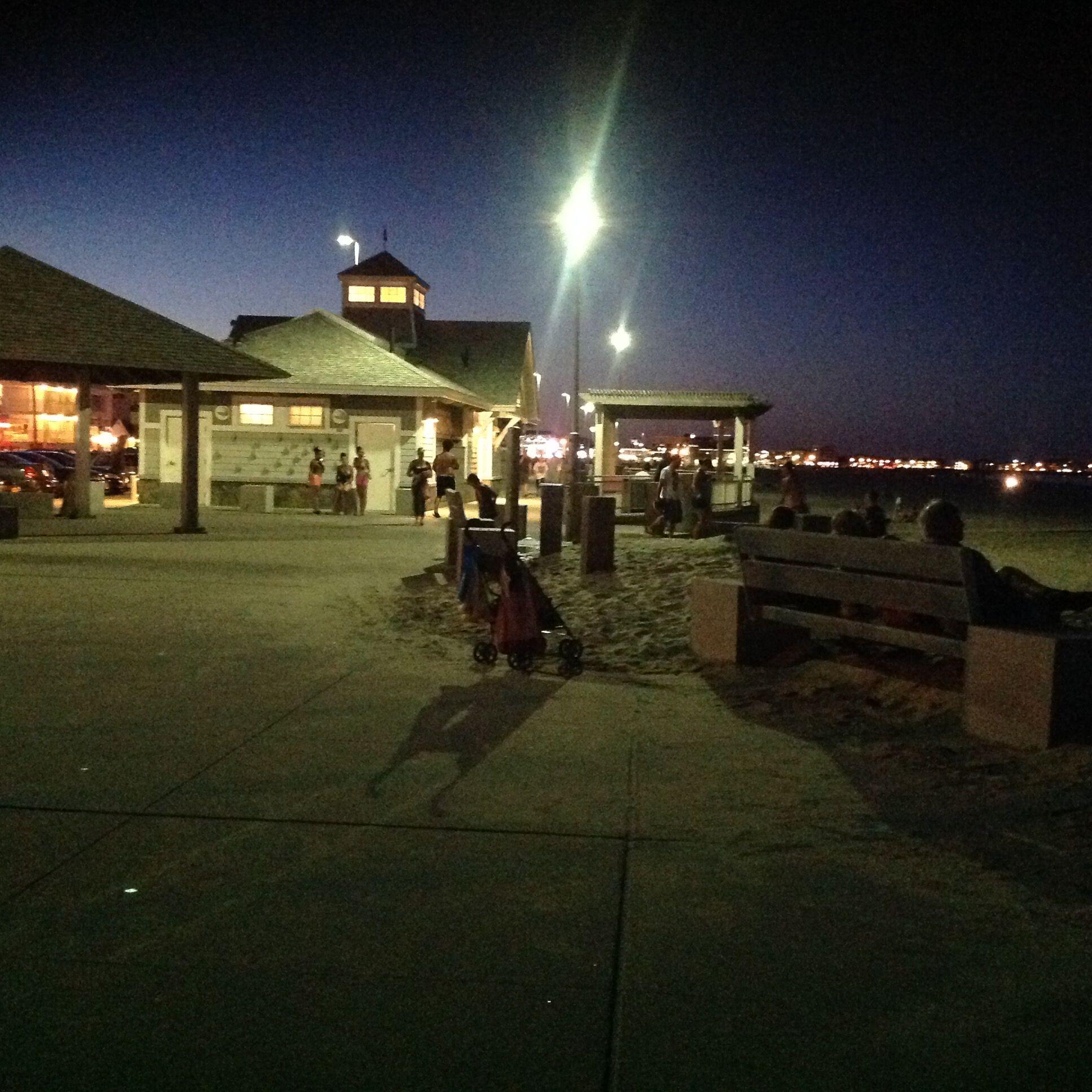 Place's Hampton Beach N.H. by D J A Hampton beach