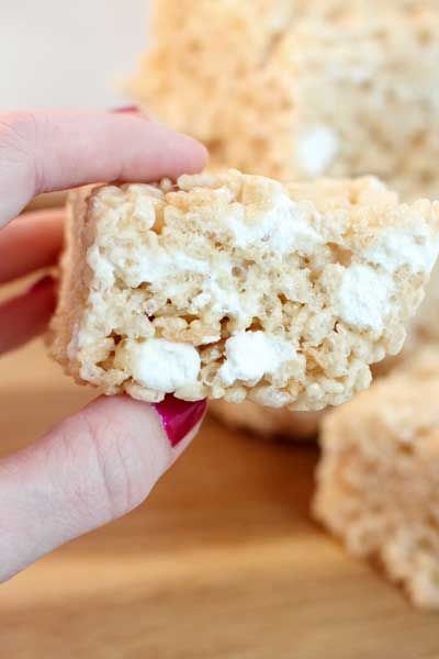how to make rice krispie bars