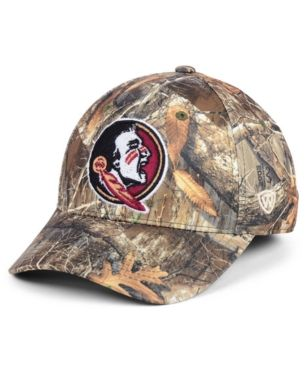 the latest 0dbd2 fc3c8 Top of the World Florida State Seminoles Berma Camo Flex Fitted Cap - Green  S M