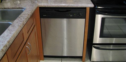 How to install a dishwasher in existing cabinets | DIY for the Home ...