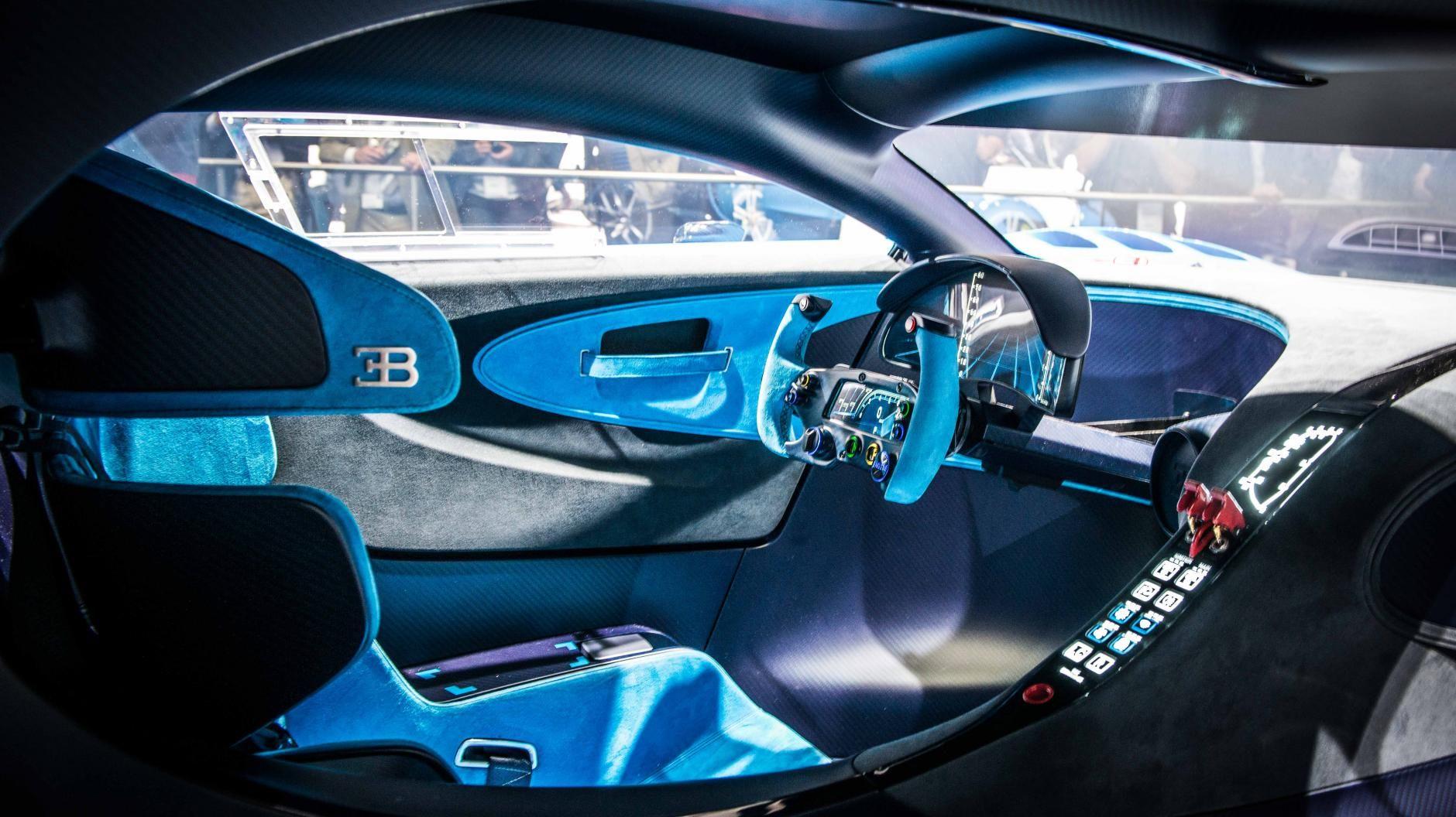 Bugatti vision gran turismo 2015 interior design   car UI ...