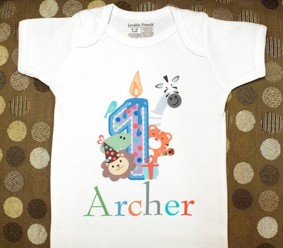 Boys Personalized Birthday T Shirt For Party