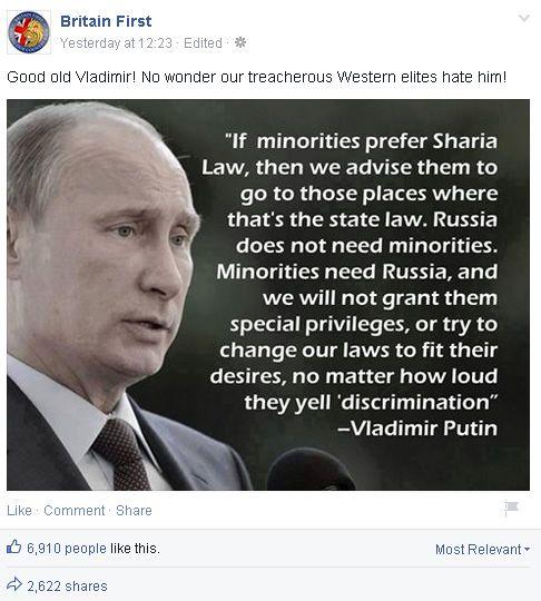 QuotesGram Via Relatably Britain First Putin Quote