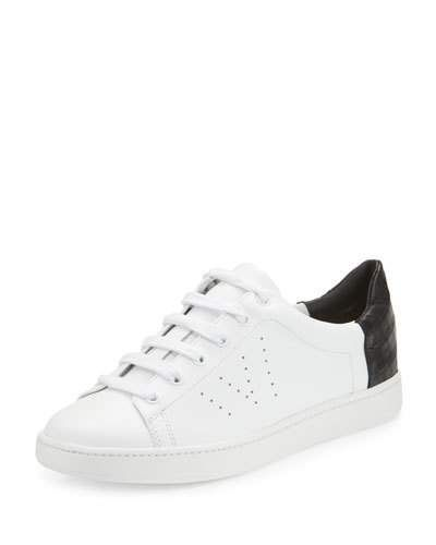 X3CHA Vince Varin Leather Low-Top