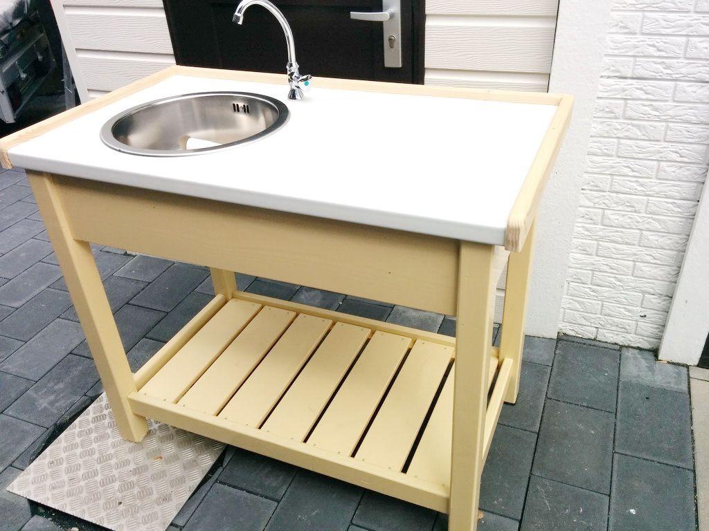 Gartenwaschplatz Selber Bauen Holz Holz Ideen Selber Bauen