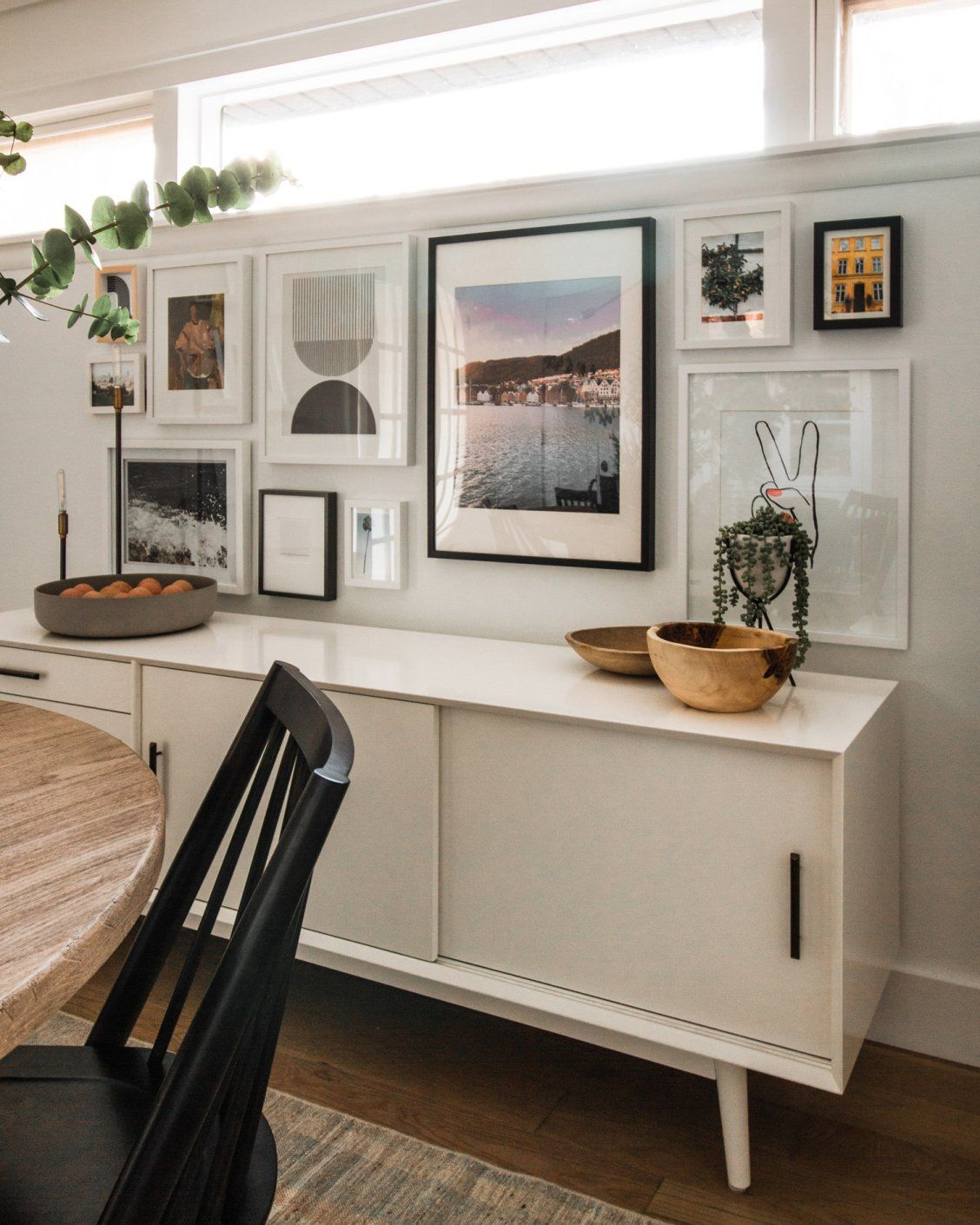 Dining room console table — west elm | House Tours in 2019 ...