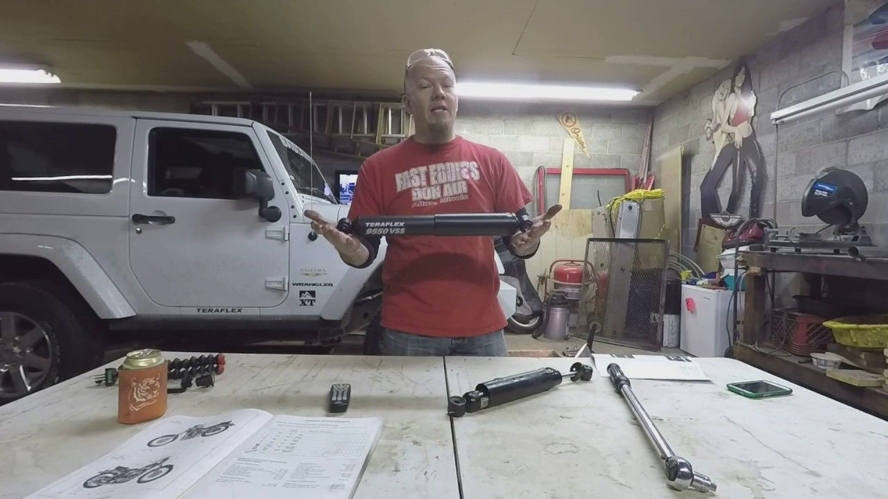 How to install/replace steering stabilizer on Jeep Wrangler JK