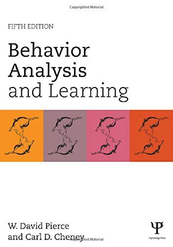 Behavior Analysis And Learning Fifth Edition Book Health Http