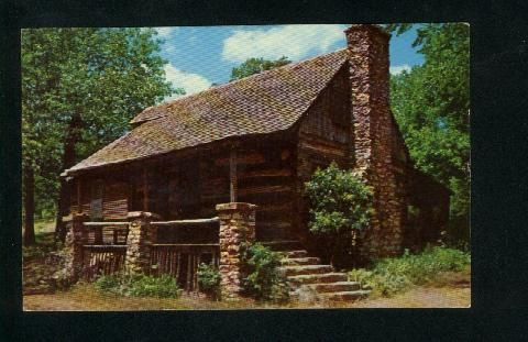 Old Mattu0027s Cabin, From Harold Bell Wrightu0027s Shepherd Of The Hills, Near  Branson Missouri
