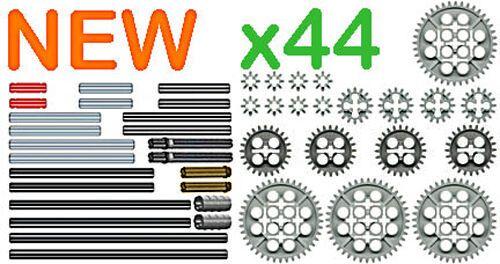 x26 Lego Gears SAMPLE Kit ev3,bevel,motor,spur,cogwheel,turntable,differential