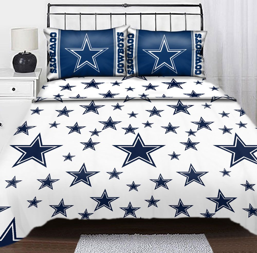 Dallas Cowboys Bedroom Decor: Trends Dallas Cowboys Furniture In Fashionable Bedroom