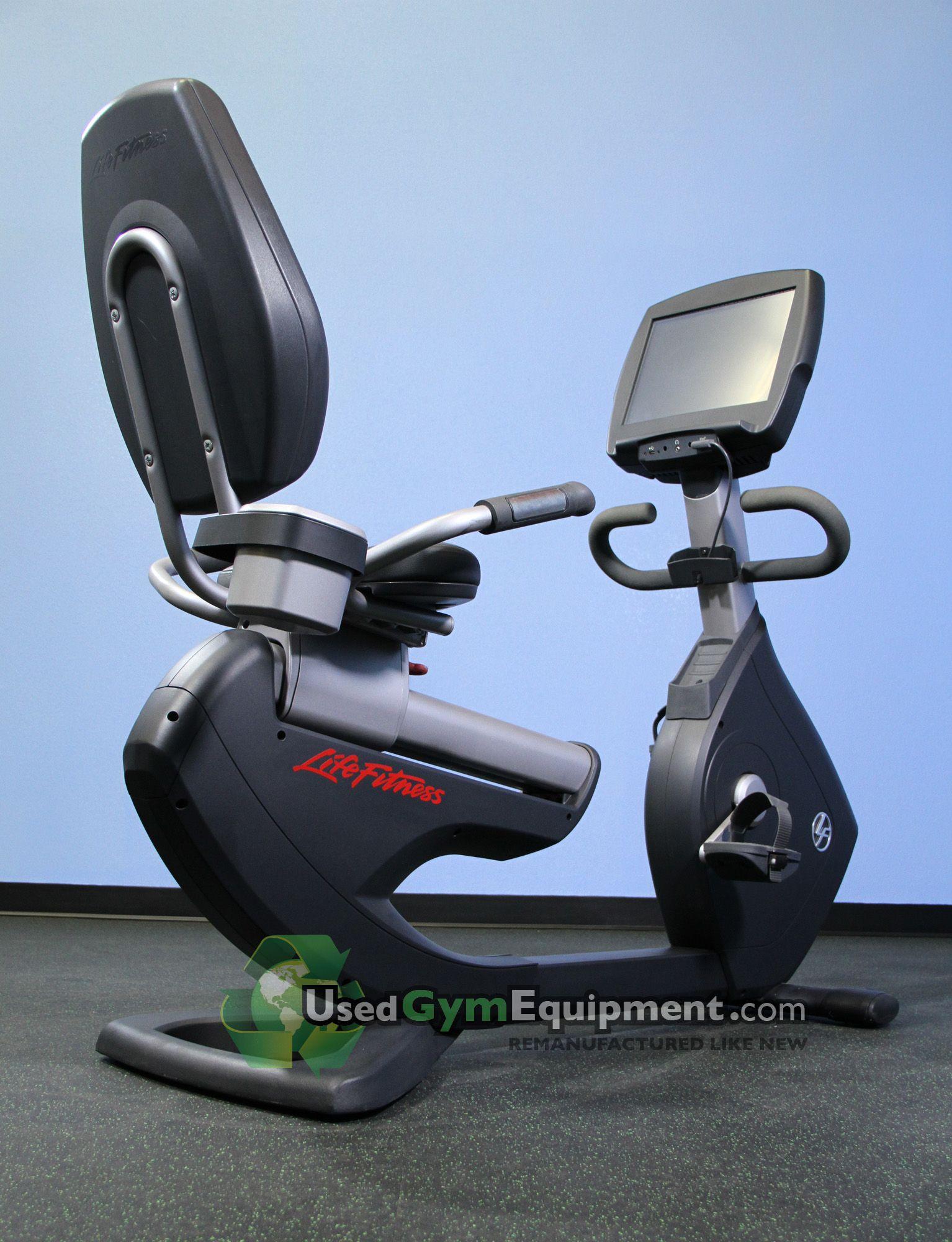 Life fitness 95r engage recumbent bike bike stationary