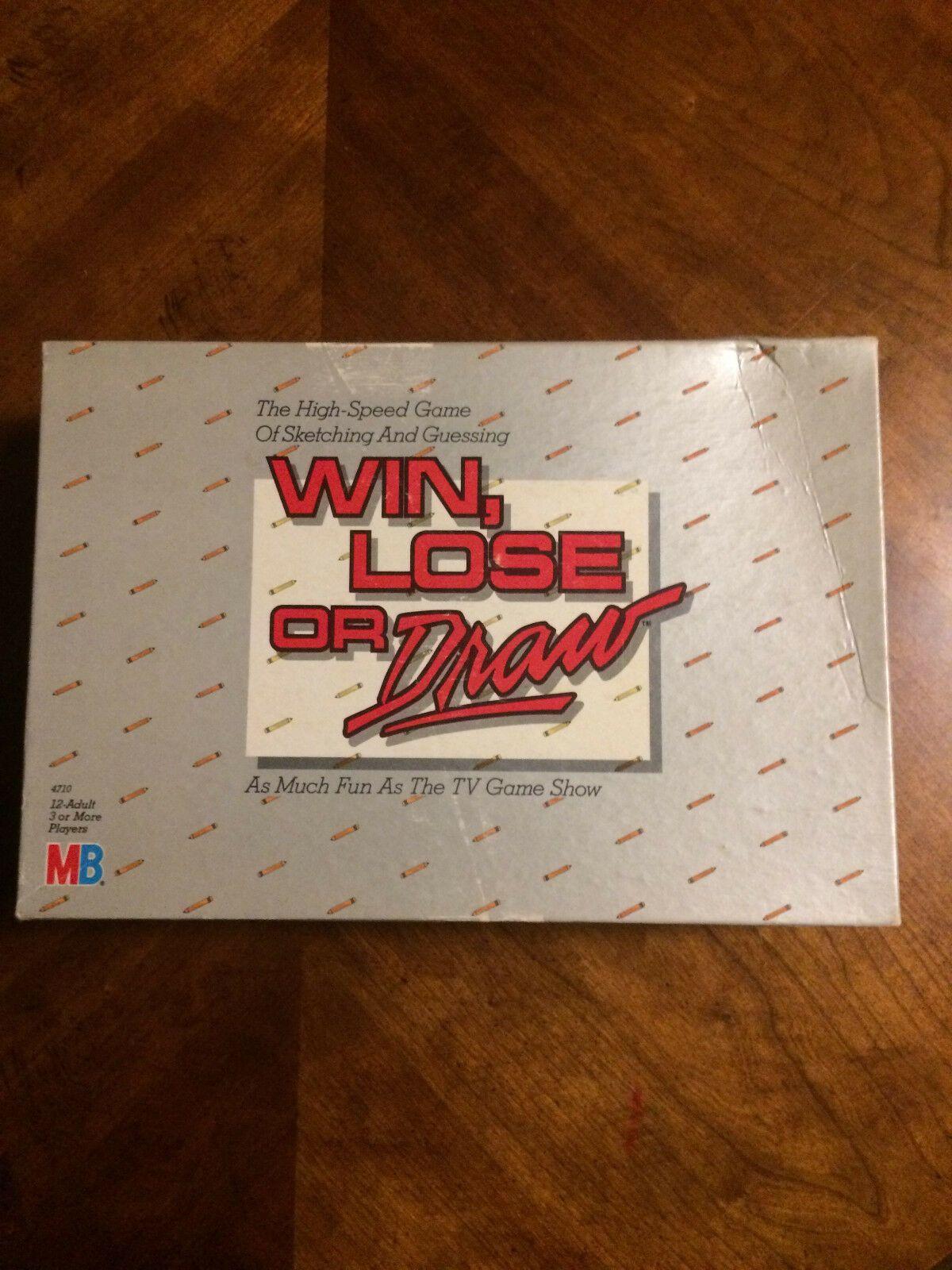 Details about Vintage 1987 Milton Bradley Win, Lose or