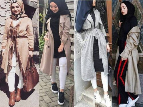 Fashion · Trendy hijab style for 2018