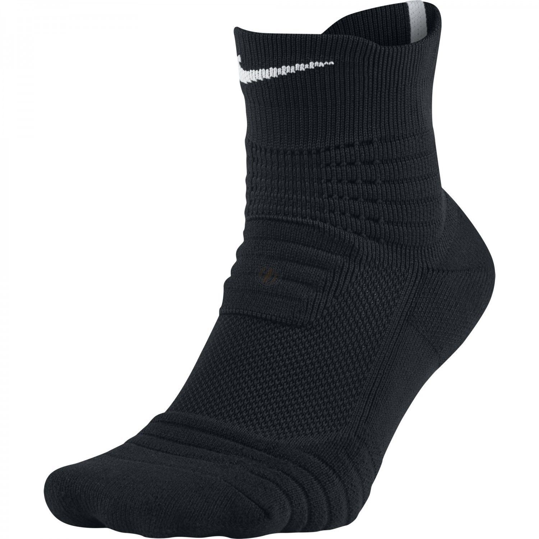 outlet store 2ec1f 2c93f Nike Elite Versatility Mid Socks Black White Sx5370-012 Sz S M L Xl