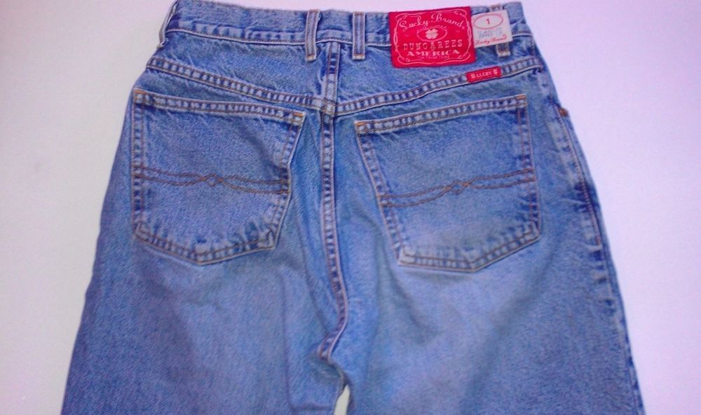Vintage #Lucky Brand Dungarees Jeans Men's SZ 31 Red Label Relaxed Made in USA http://www.ebay.com/itm/-/291347662399?roken=cUgayN&soutkn=sbGHTp #luckyjeans #mensfashion #newjeans